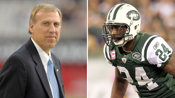 John Idzik and Darrelle Revis