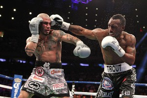 Miguel Cotto and Austin Trout