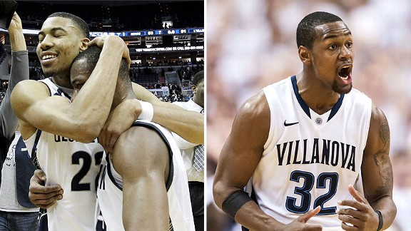Georgetown and Villanova
