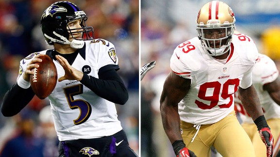 Joe Flacco, Aldon Smith