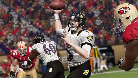 Madden sims Super Bowl 2