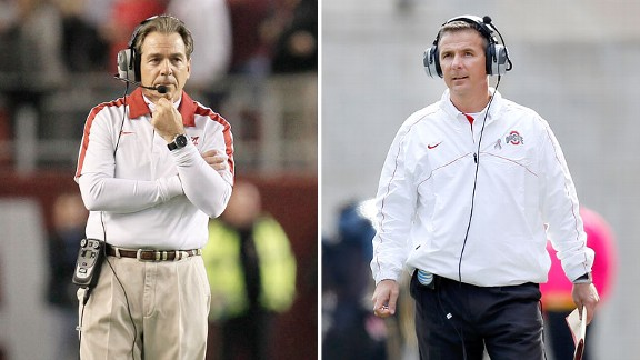 Nick Saban and Urban Meyer