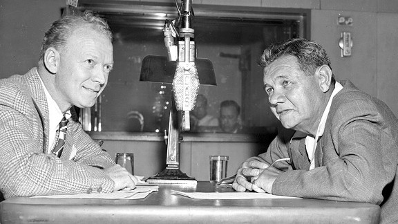 Red Barber, Babe Ruth