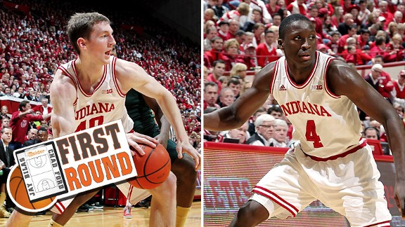 Cody Zeller and Victor Oladipo