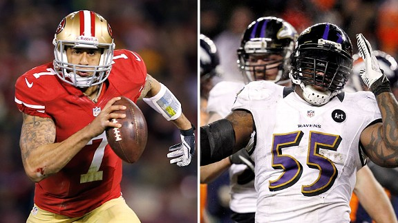 Double Coverage: Kaepernick vs. Ravens' D