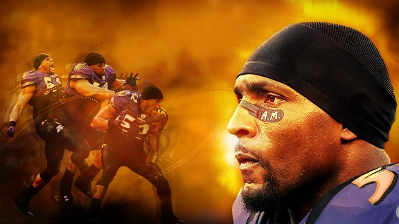 Ray Lewis Illustration