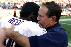 Ed Reed and Bill Belichick