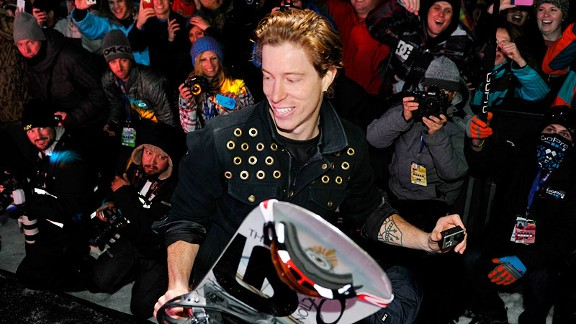 Shaun White at X Games Aspen 2013.