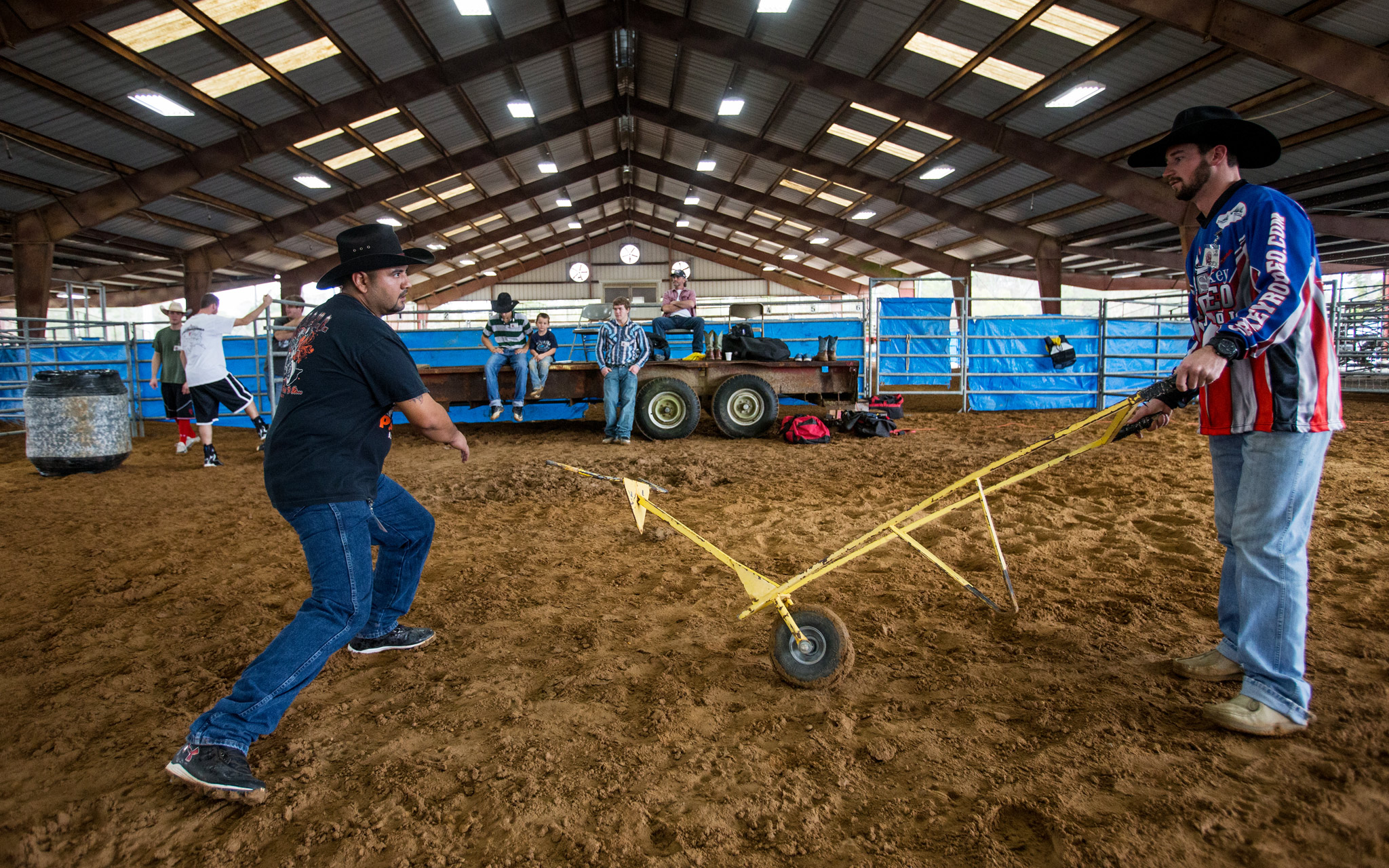 Sankey Rodeo Bull Fighter Training Espn