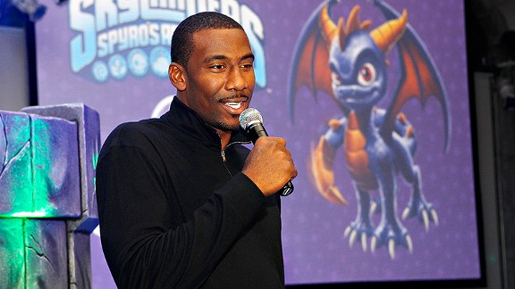 Amar'e Stoudemire of the New York Knicks and Skylanders