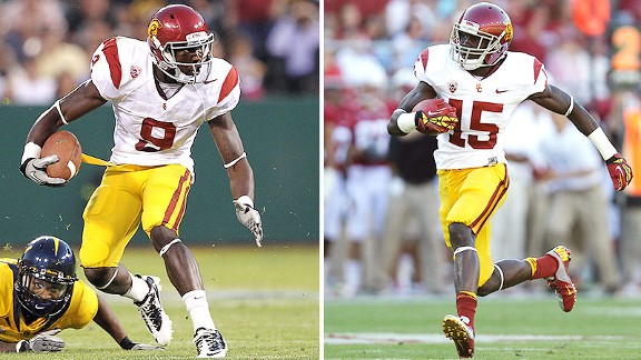 Marqise Lee, Nelson Agholor
