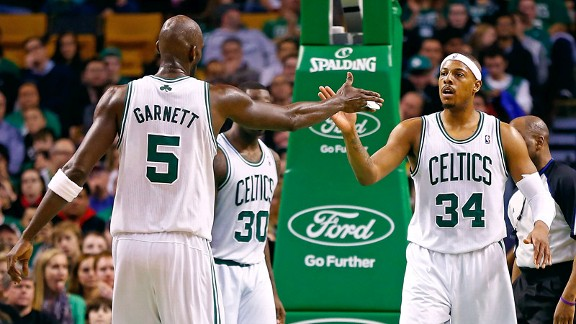 Kevin Garnett, Paul Pierce 