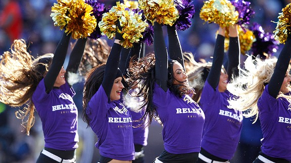 Ravens cheerleader Courtney Lenz will not be joining her teammates on the sideline for the Super Bowl on Sunday.