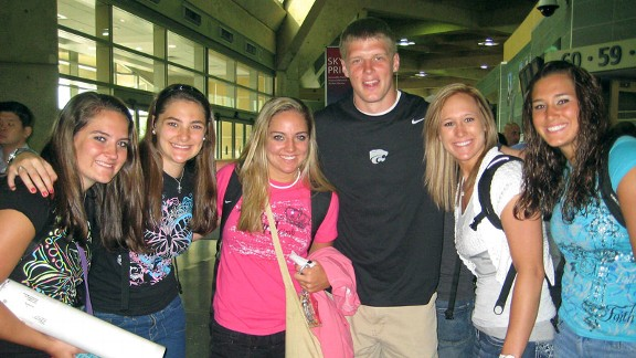 Collin Klein and Spani sisters