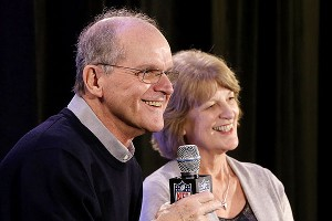 Jack and Jackie Harbaugh