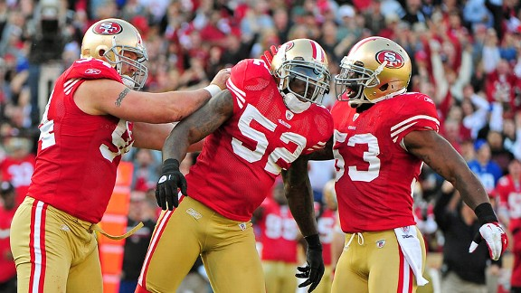 Patrick Willis, Justin Smith, NaVorro Bowman
