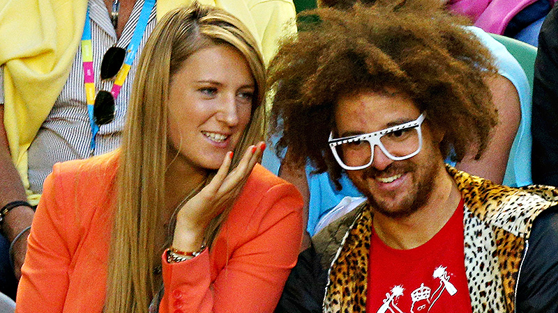 Unlike the other athletes mentioned, Azarenka has yet to sing or rap. Yet, that is. Her trademark grunts are featured on boyfriend Redfoo's a href=http://www.youtube.com/watch?v=-fg99A6-bFY target=_blank Heart of a Champion /a single from 2013. It seems music fans feel the same way as opponents do about the noise -- it failed to chart or gain much traction. (Photo: Lucas Dawson/Getty Images)