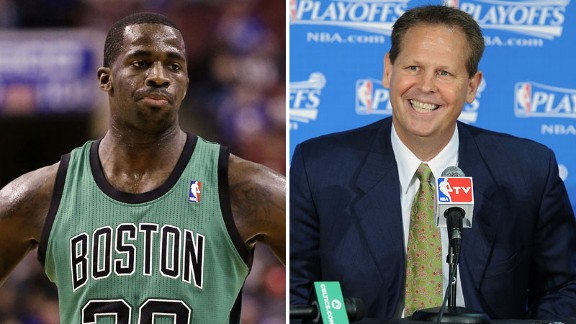 Brandon Bass, Danny Ainge