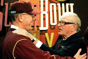 Joe Gibbs and Jack Kent Cooke