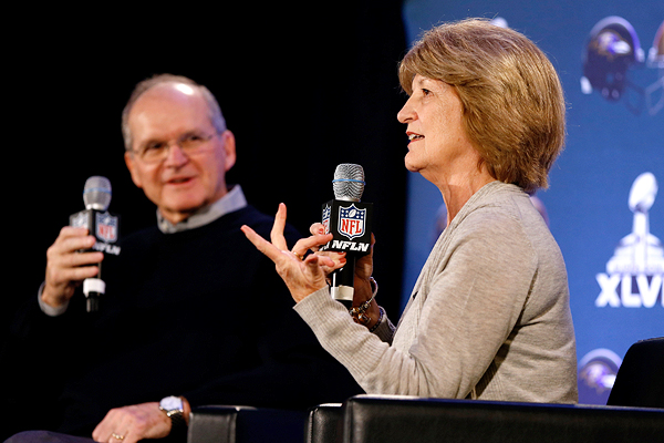 Jackie and Jack Harbaugh