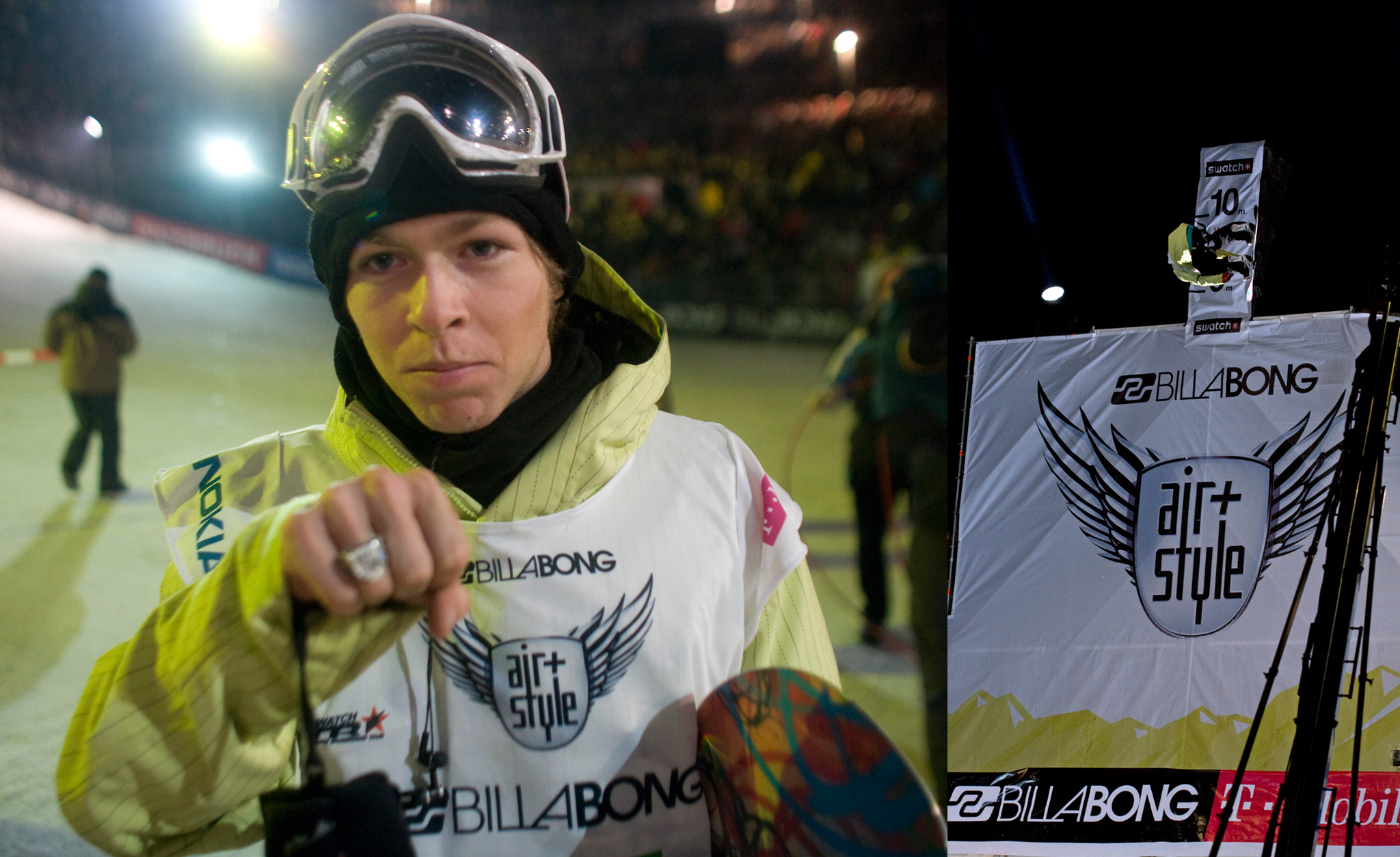 February 2008, Innsbruck<br> Winner: Kevin Pearce