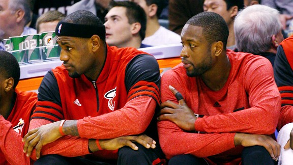 LeBron James, Dwayne Wade