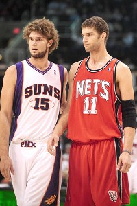 Robin Lopez and Brook Lopez