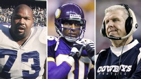 Larry Allen/Bill Parcells/Cris Carter