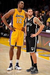 Dwight Howard and Deron Williams