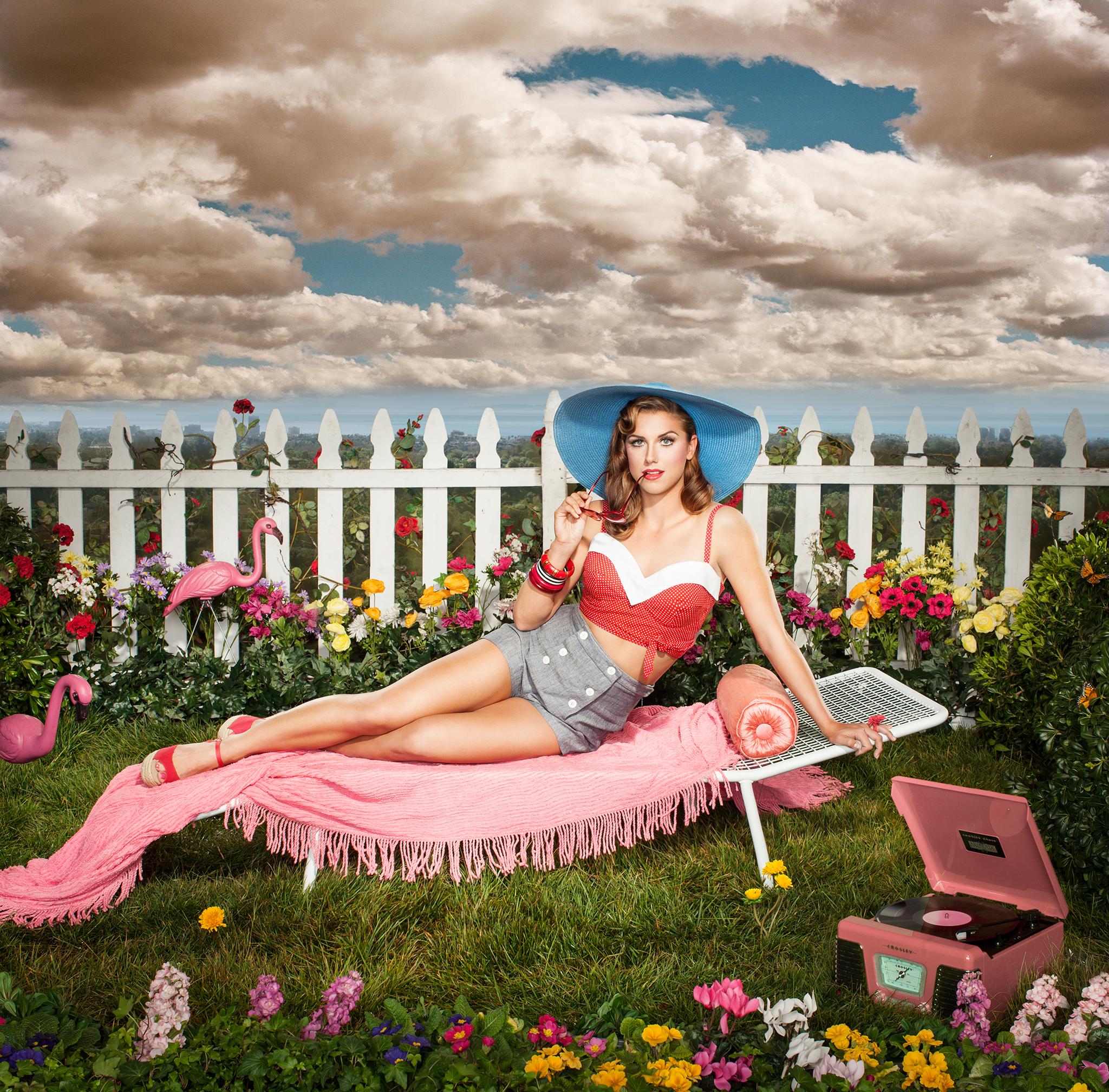 Alex Morgan Alex Morgan Re Creates Katy Perry Album