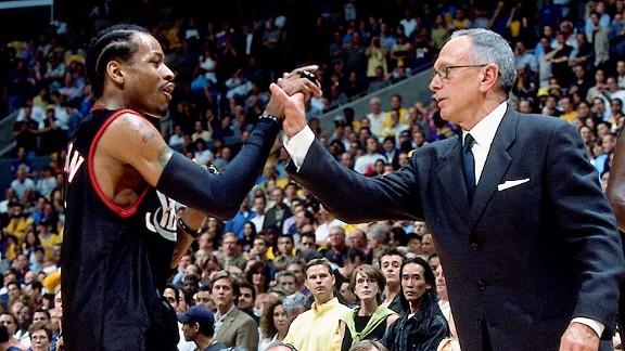 Allen Iverson, Larry Brown