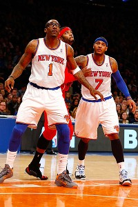 Amar'e Stoudemire and Carmelo Anthony