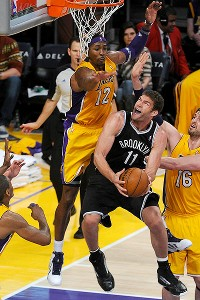 Dwight Howard and Brook Lopez