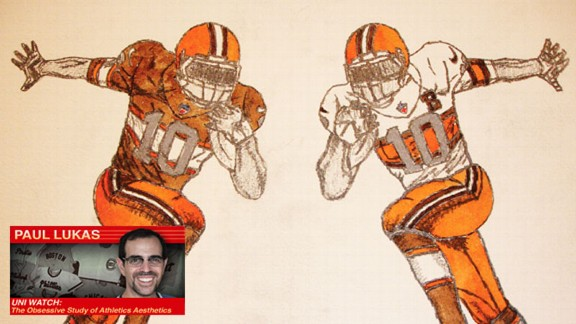 Uni Watch Cleveland Browns redesign