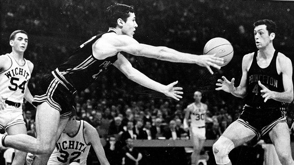 Princeton's Bill Bradley scored 58 points in a third-place game against Wichita State in 1965.