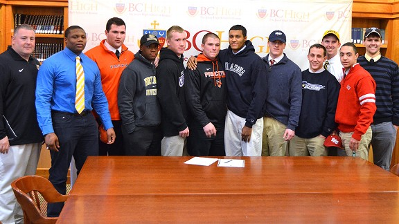college football signees