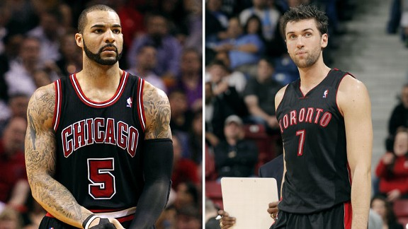 Carlos Boozer, Andrea Bargnani