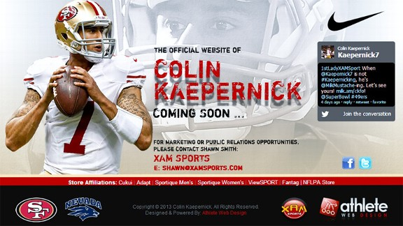 Colin Kaepernick Website