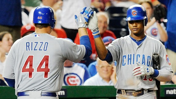 Anthony Rizzo and Starlin Castro