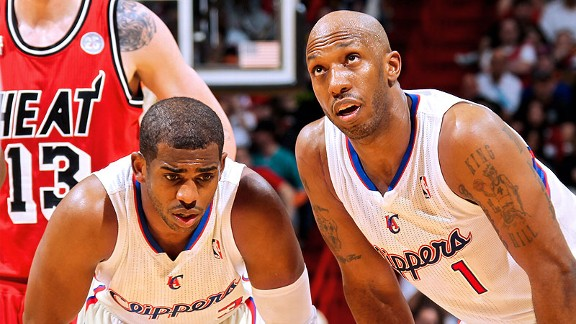 Chris Paul and Chauncey Billups
