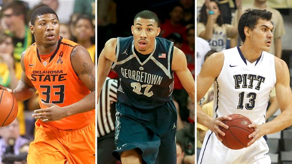 Marcus Smart, Otto Porter Jr. and Steven Adams