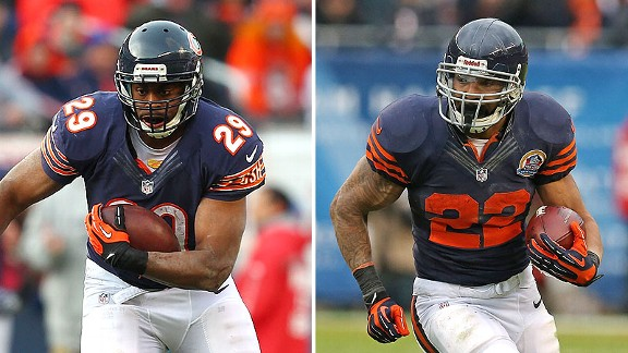 Michael Bush and Matt Forte