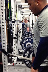 Penn State workout