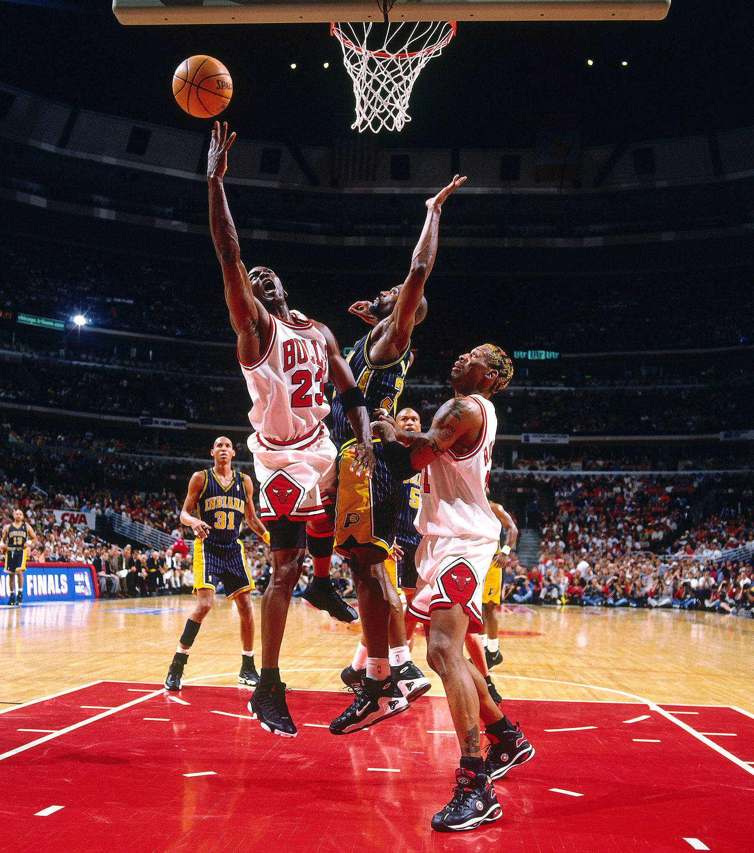 29. Beats Pacers in 7 - Michael Jordan 50 Greatest Moments - ESPN