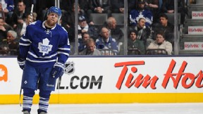 Phil Kessel #81 of the Toronto Maple Leafs