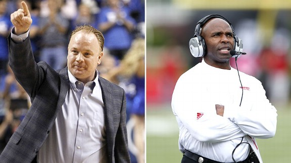 Mark Stoops and Charlie Strong