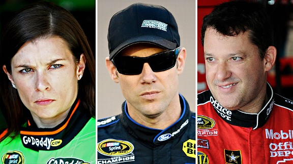 Patrick & Kenseth & Stewart