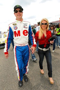 Kurt Busch and Patricia Driscoll