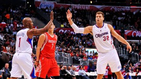 Chauncey Billups and Blake Griffin
