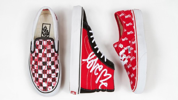 Curtis Kulig's Love Me  x Vans collection
